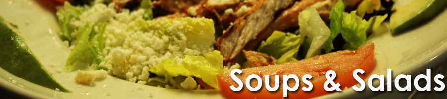 Order Mexican Food in Charlotte Soups and Salads by Azteca Restaurant