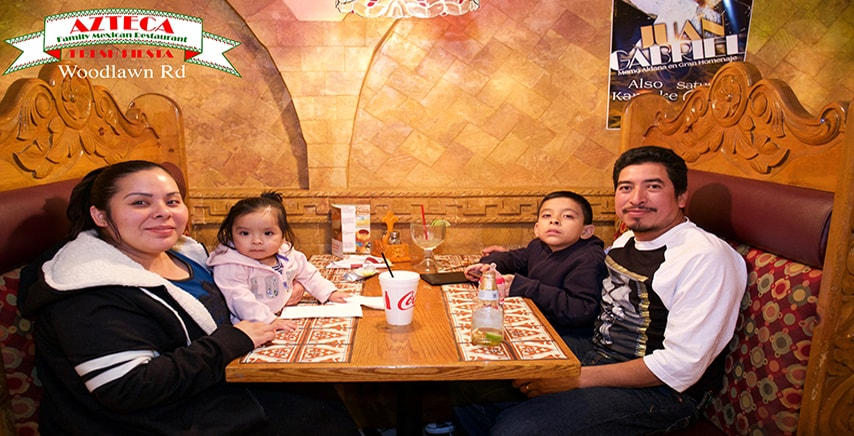 Azteca Mexican Family Style Restaurant In Charlotte And Gastonia